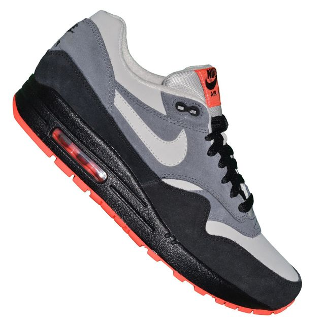 Basket Homme Air Max 1 148 Noir Dark Grey Ltr