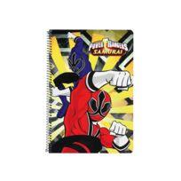 Power Rangers - Cahier spirale A4 Samourai