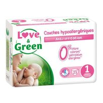 Love And Green - Love & Green - Couches Ecologiques Hypoallergéniques 0% T1 x23
