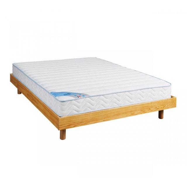 someo ensemble matelas mousse m10 sommier kit miel 140x190 pas cher achat vente ensembles. Black Bedroom Furniture Sets. Home Design Ideas