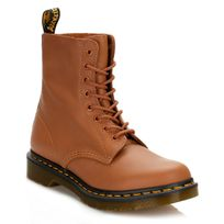 Dr. Martens - Womens Tan Pascal Virginia Leather Boots-UK 7
