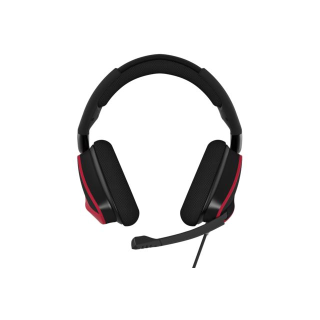CORSAIR VOID Pro Surround 7.1 USB - Rouge Avec le casque Corsair Gaming VOID Pro Surround 7.1 USB, vous entrez dans le monde du VOID. La gamme de gaming par excellence de Corsair. Repensez votre expérience auditive, adaptez votre gameplay à ce nouvel angl