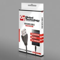 Alpexe - Cable Usb plat pour iPhone 3G/3Gs/4/4s/Ipod Nano/Touch Gt