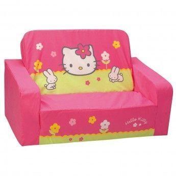 Hello Kitty - Canapé convertible enfant - pas cher Achat   Vente Fauteuils  - RueDuCommerce f688b25a455d