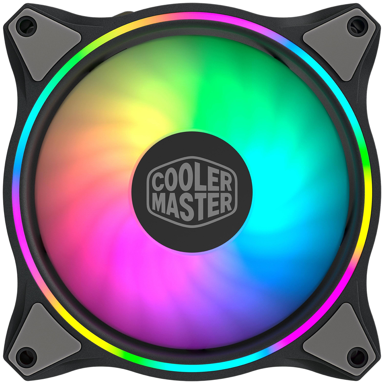 Ventilateur pour boîtiers PC - LED RGB - Noir