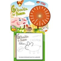 Green Board Games - Asmodee Jeu d'Ambiance Éducatif - Gribouille - La Ferme
