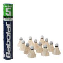 Babolat - Volants badminton 5 blanc volant Blanc 20806