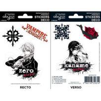 Abystyle - Vampire Knight - Planche de mini-stickers 16 X 11cm