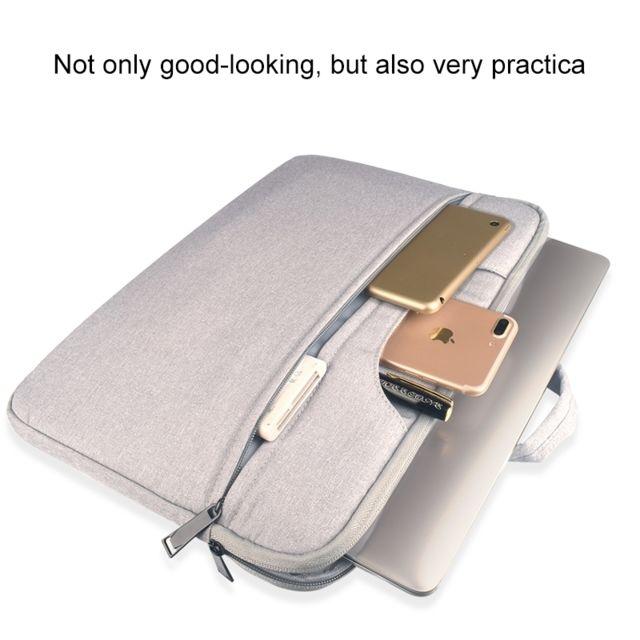 98eeca0c31 ... Wewoo - Sacoche ordinateur 14.1 pouces gris pour 14 et ci-dessous  Macbook, Samsung ...