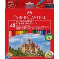 Faber-Castell - crayons de couleur Hexagonal Eco, Etui de 48