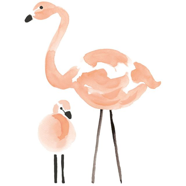 Lilipinso Flamingo Stickers Xl Flamants Roses Pas Cher Achat