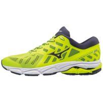 f60e34319cfbb Mizuno - Wave Ultima 11 Jaune Fluo Chaussures de running homme
