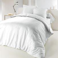 housse couette blanche uni 220 x 240 achat housse couette blanche uni 220 x 240 pas cher rue. Black Bedroom Furniture Sets. Home Design Ideas