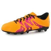 Adidas - X15.4 Fg orange, chaussures de football enfant