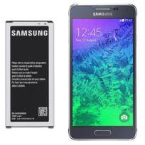 Samsung - Batterie d'origine Eb-bg850BBE Pour Galaxy Alpha 1860 mAh
