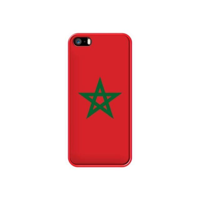 coque iphone 5 5s se drapeau maroc marocain laetitia