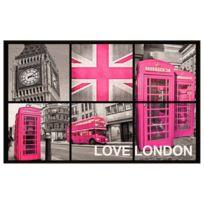 Deco Tapis - Tapis London Girl touché moquette 50x80