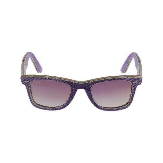 Ray-Ban - Ray Ban - Wayfarer Rb2140 1167 S5 Violet clair - Lunettes de  soleil - pas cher Achat   Vente Lunettes Tendance - RueDuCommerce eb7190620a29