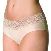 Julimex - Culotte femme Hipster beige