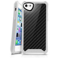 Itskins - Atom Sheen Carbon Blanc Apple Iphone 5C
