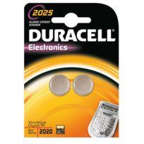 Duracell - pile lithium3v cr2025 - blister de 2