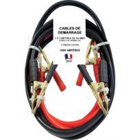 Outiland - Câbles de démarrage 1000 Ampères 2x5 mètres 50 mm²