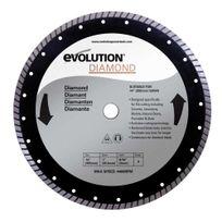 Evolution - Disque Diamant 355mm pour tronçonneuse Fury2