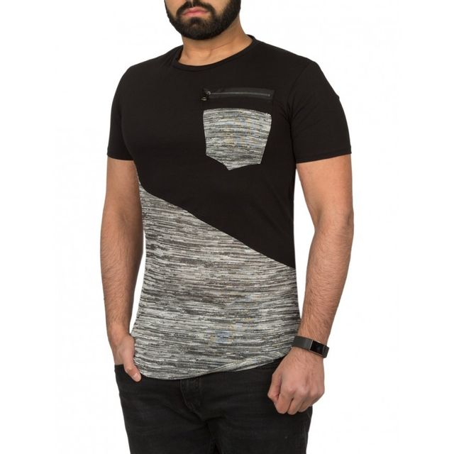 T shirt long homme - Achat T shirt long homme pas cher - Soldes ... b446602d734d
