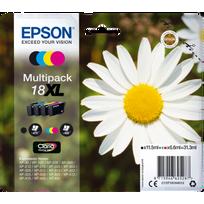 EPSON - T1816 PK BK/C/M/Y - Paquerette Pack XL