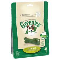 Greenies - Bâtonnets à Mâcher pour l'Hygiène Dentaire pour Mini Chien - x43