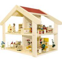 Rülke Holzspielzeug - RÜLKE Holzspielzeug 23181 Filius Maison De PoupÉE En Bois