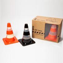 Pa Design - Set de 2 cones à travaux en salière et poivrier. 7,5 x 7,5 x 10,2 cm