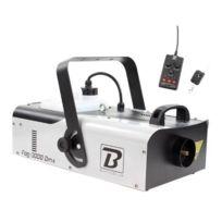 Boomtonedj - Fog 3000 Dmx Machine à Fumée
