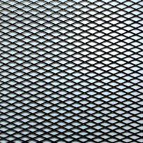 Foliatec - Grille Alu Maille Moyenne Noir Plie Au Milieu 2X-20X60