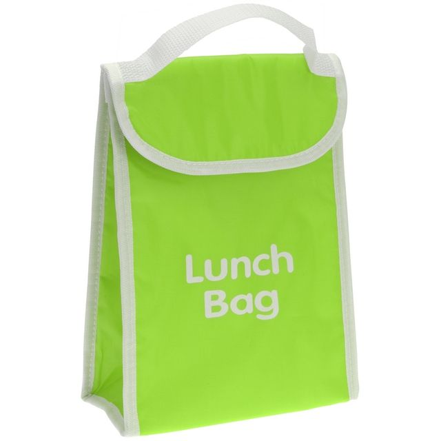 Promobo Lunch Bag Isotherme Sac Panier Repas Goûter 4L Vert