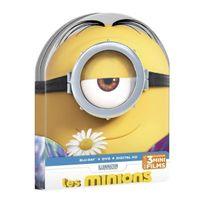 Upv - Les Minions Combo Dvd + Blu-ray + Uv - Boîtier métal