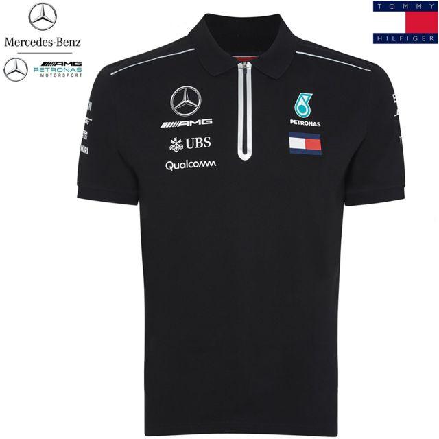 27b536900d37f Mercedes Amg - Mercedes Amg ® F1 Puma Polo zipper Sponsor Tommy Hilfiger  41181061-100