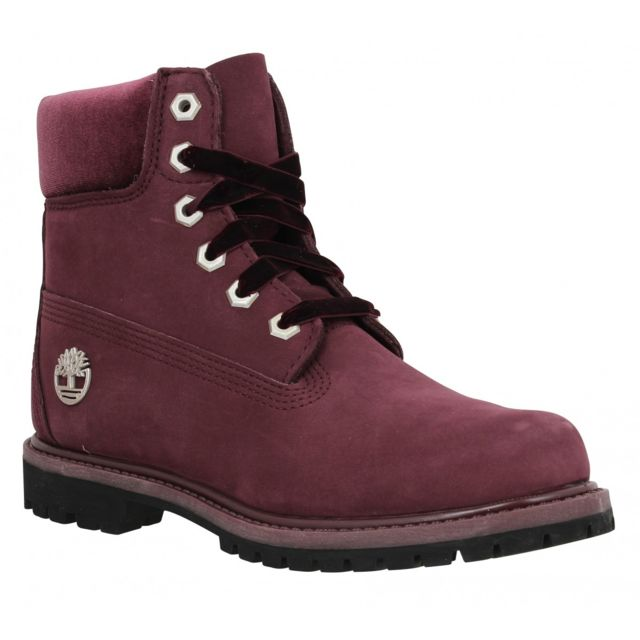 Timberland 6in Premium Wp velours Femme 37 Port pas cher