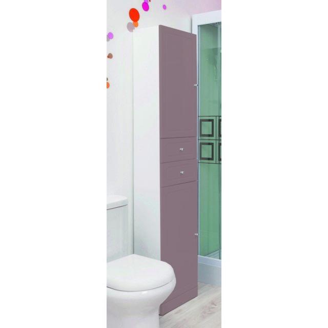 Colonne de salle de bain Tolede taupe