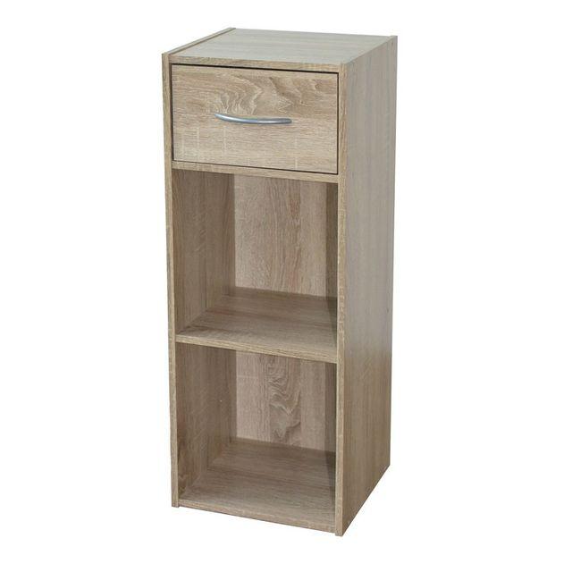 marque generique etag re colonne en bois h80cm l31cm. Black Bedroom Furniture Sets. Home Design Ideas