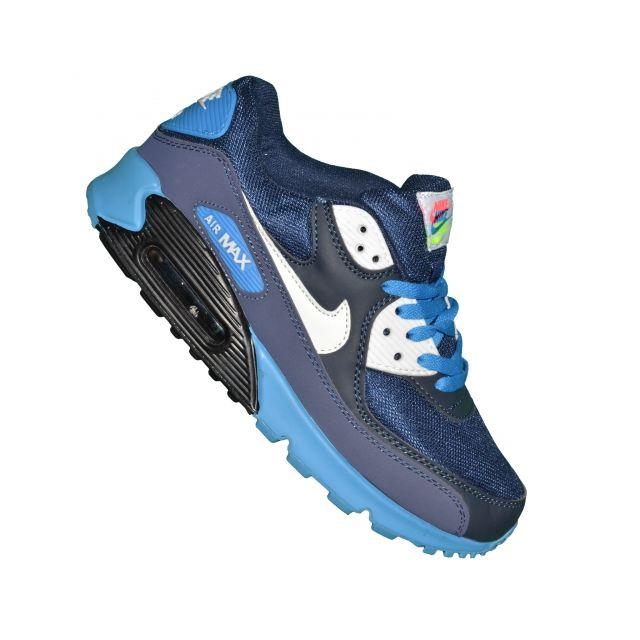 Nike Essential Basket Homme Air Max 90 Essential Nike 42 Deep Bleu Bleu b3d752