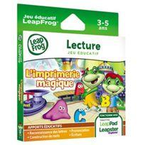 Leapfrog - Jeu LeapPad Imprimerie Magique