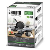 BIALETTI - batterie de cuisine 10 pièces - 0c0set10