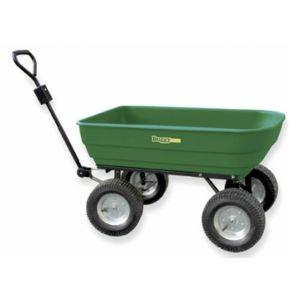 garden kart chariot de jardin basculant 128 litres buggy kart pas cher achat vente. Black Bedroom Furniture Sets. Home Design Ideas