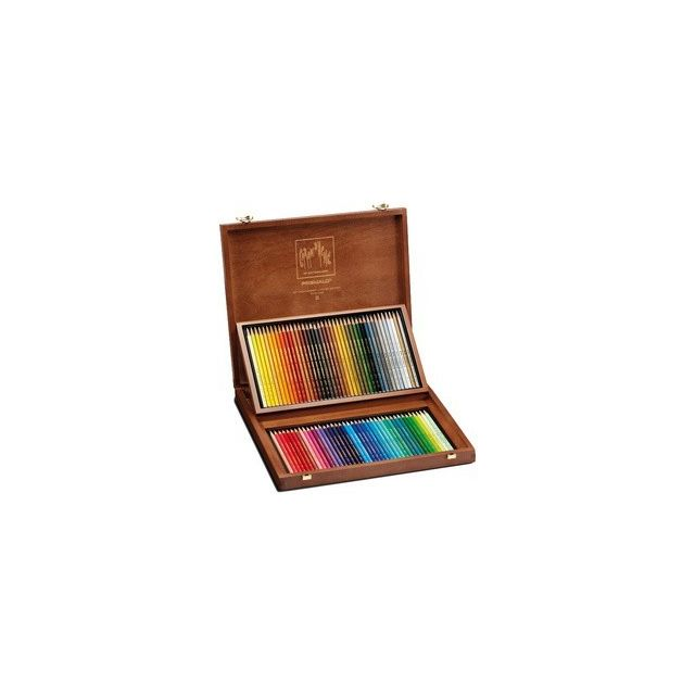 Assortiment 80 crayons Caran d/'Ache PRISMALO