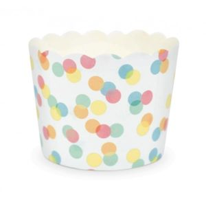 scrapcooking 25 caissettes cupcakes confettis multicolore pas cher achat vente. Black Bedroom Furniture Sets. Home Design Ideas