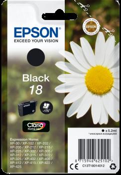 EPSON T1801 - Pâquerette Noir