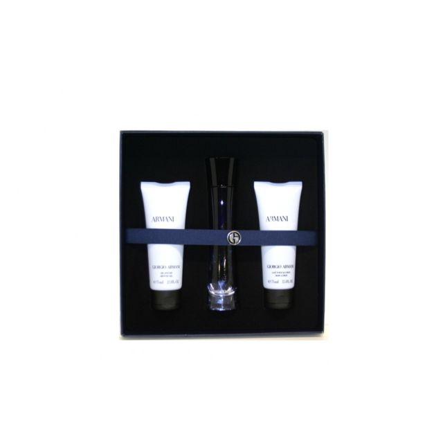 Armani - Giorgio Coffret pour femme - Code - Eau de parfum + Lait corps +  Gel douche - pas cher Achat   Vente Coffrets - RueDuCommerce 81707c0250cb