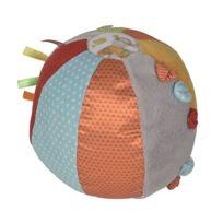 Nicotoy - Disney Baby - Balle d'activités bébé en tissu Winnie l'ourson Ø 18 cm