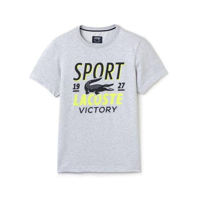 a57dd19f6d445 Lacoste - Tee-shirt - Ref. Th5763-00OA6 - pas cher Achat   Vente Tee ...